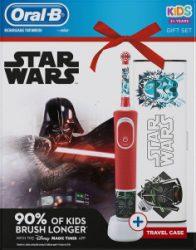 Oral-B D100 Star Wars Elektromos gyermek fogkefe + utazótok