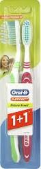 Oral-B Natural Fresh 40 Medium 1+1 fogkefe